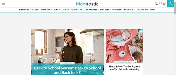 Momtastic pays freelance writers for food writing gigs