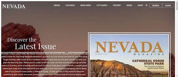 Nevada Magazine hires food writers for freelance writing jobs