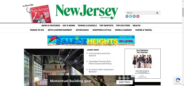 New Jersey Monthly magazine pays writers for freelance food writing jobs