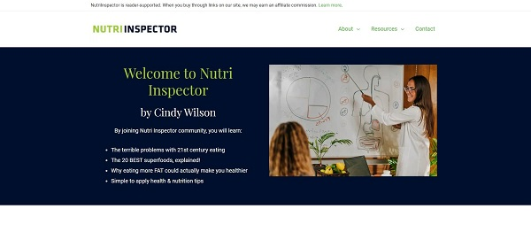 Nutri Inspector blog pays freelance writers for food writing jobs