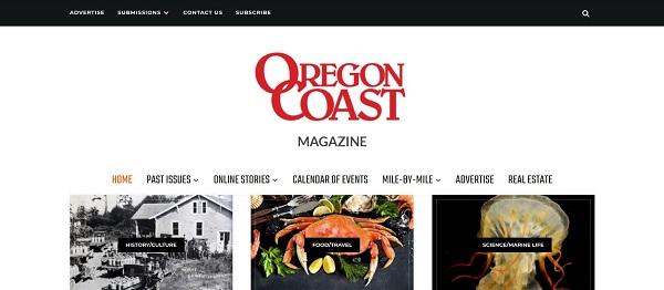 Oregon Coast magazine hires writers for freelance food writing gigs