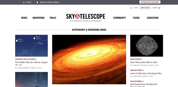 Sky and Telescope magazine pay science writers for freelance writing gigs