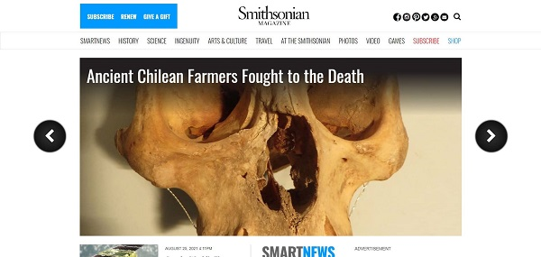 Smithsonian Magazine and blog hire freelance writers for science and tech writing gigs