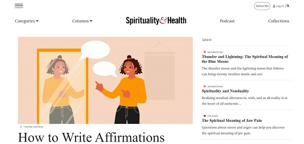 Spirituality and Health magazine hires writers for freelance food writing gigs