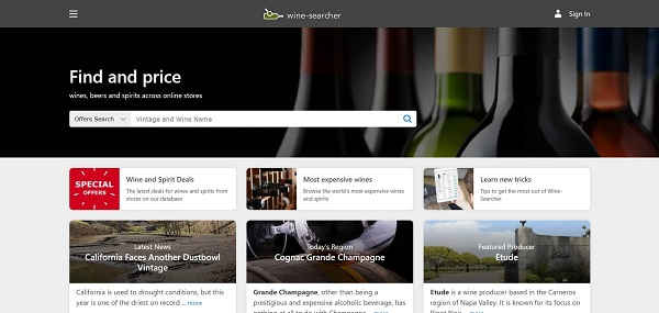 Wine Searcher blog hires freelance writers for drinks writing jobs