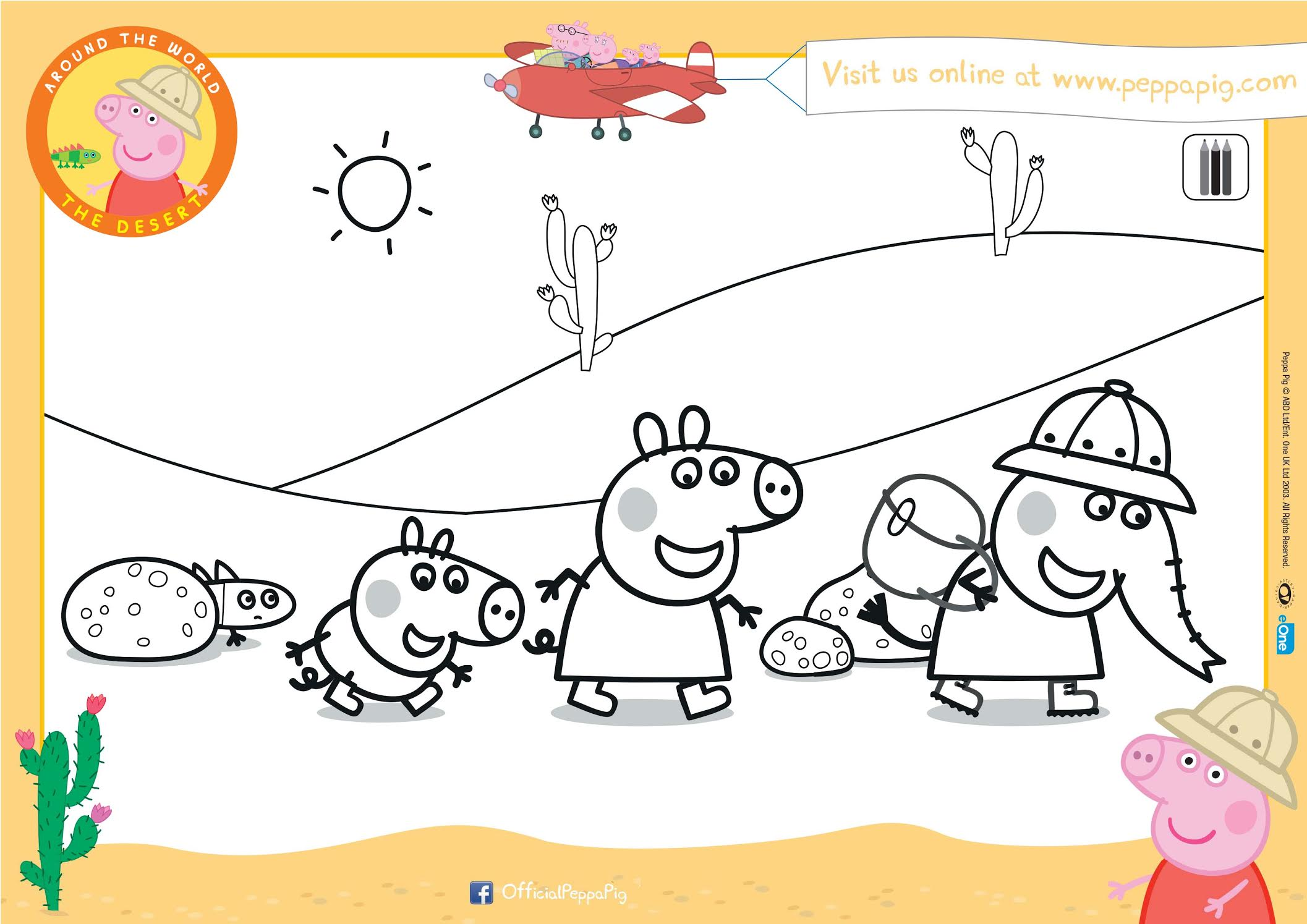 Peppa Pig Activity Sheets Be A Fun Mum