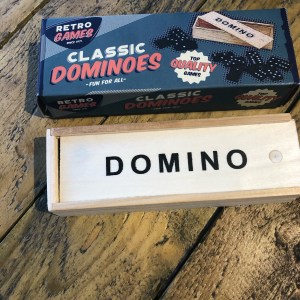 Vintage Mini Wooden Dominos