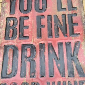 Metal You'll Be Fine Drink