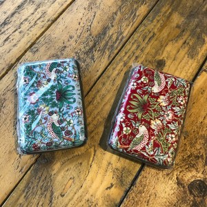 William Morris Strawberry Thief Card Holder