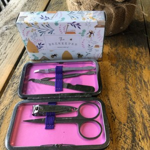 The Beekeeper Manicure Kit