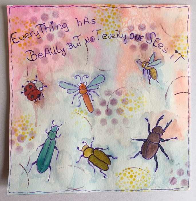 artjournalpage beetles