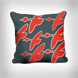 Red Geese Pillow Ecwid