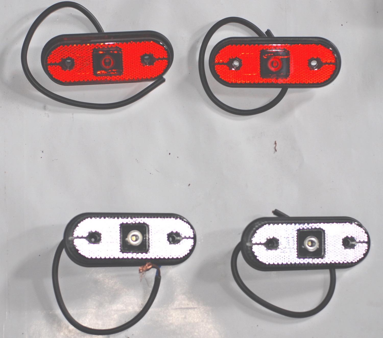 Voor in de toekomst:LED hoogtelichtjes voor op het hoogdak.