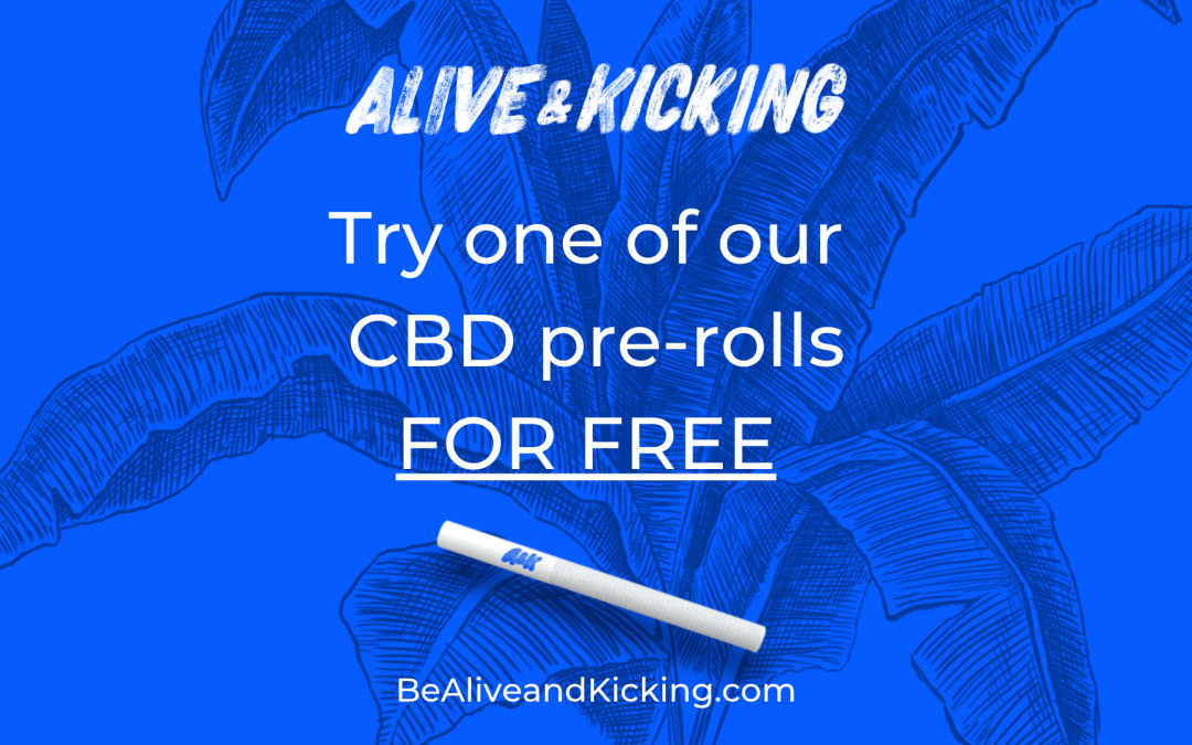 Try a FREE HEMP PRE-ROLL – We think you'll love it