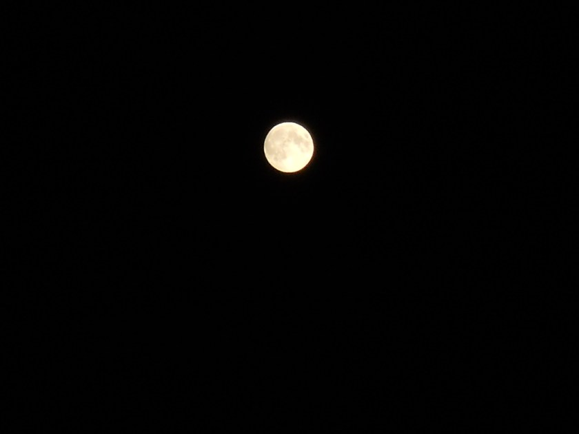 Harvest Moon in the West of Ireland, tonight!