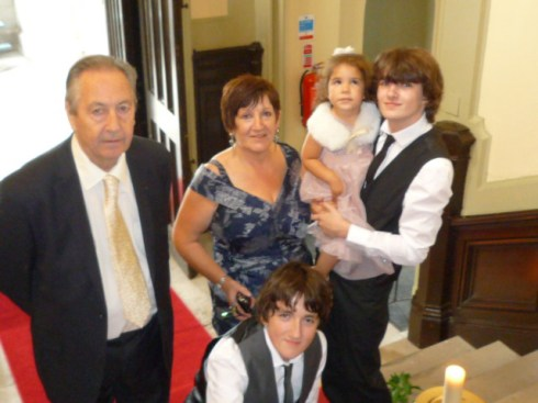 With my beautiful grandsons
