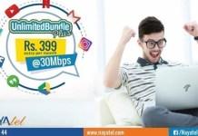 Now get Nayatel 30Mbps Unlimited Internet Bundle for Video Streaming