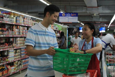 Albert Go_BeamAndGo_Supermarket