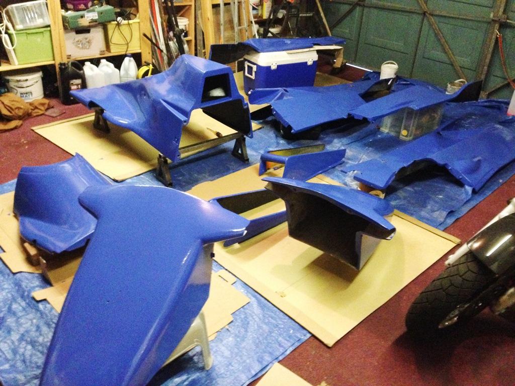 Van Diemen Body Parts Blue
