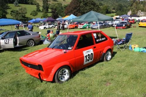 Nick Blight's very quick Fiesta