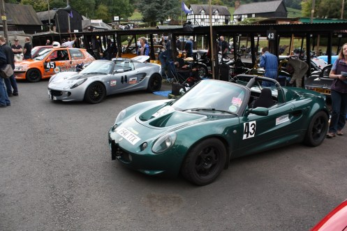 My main rivals this weekend - Paul Jones (Lotus) and Dave West (Peugeot).
