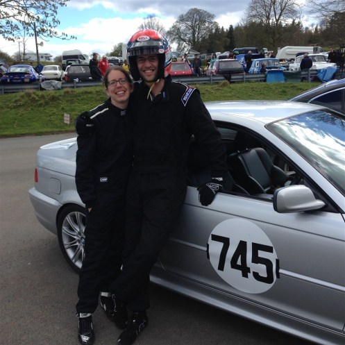 Sarah and Colin Davies in their second year with the HSA.