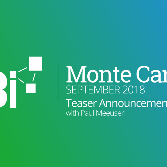 Monte Carlo Teaser Interview - B3i