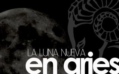 La luna nueva en Aries