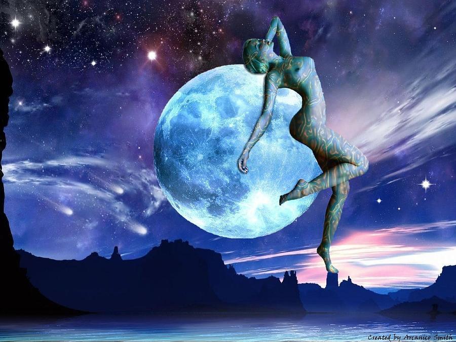 La súper luna. La súper YO.