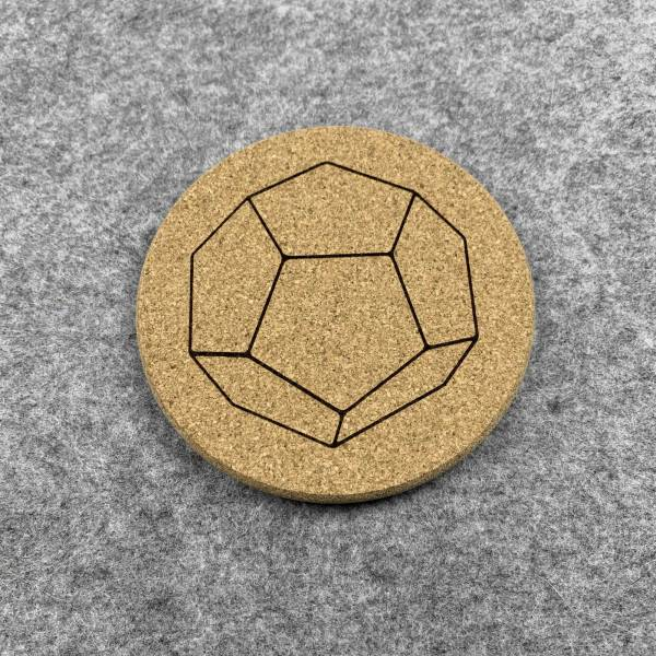 D12 - 12 Sided Dice Coaster