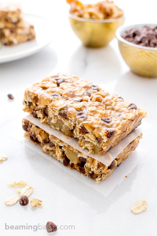 Peanut Butter Chocolate Trail Mix Granola Bar Recipe