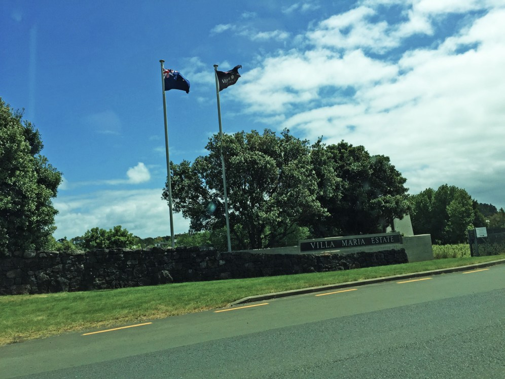 Villa Maria winery and vineyard, Auckland