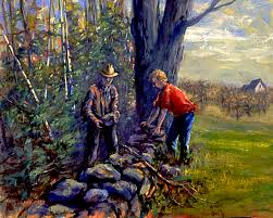 Summary and Analysis of Mending Wall by Robert Frost