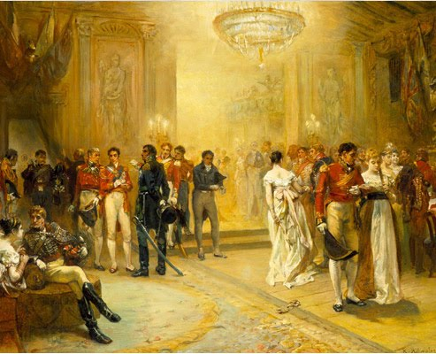 Summary and Analysis of The Eve of Waterloo by Lord Byron