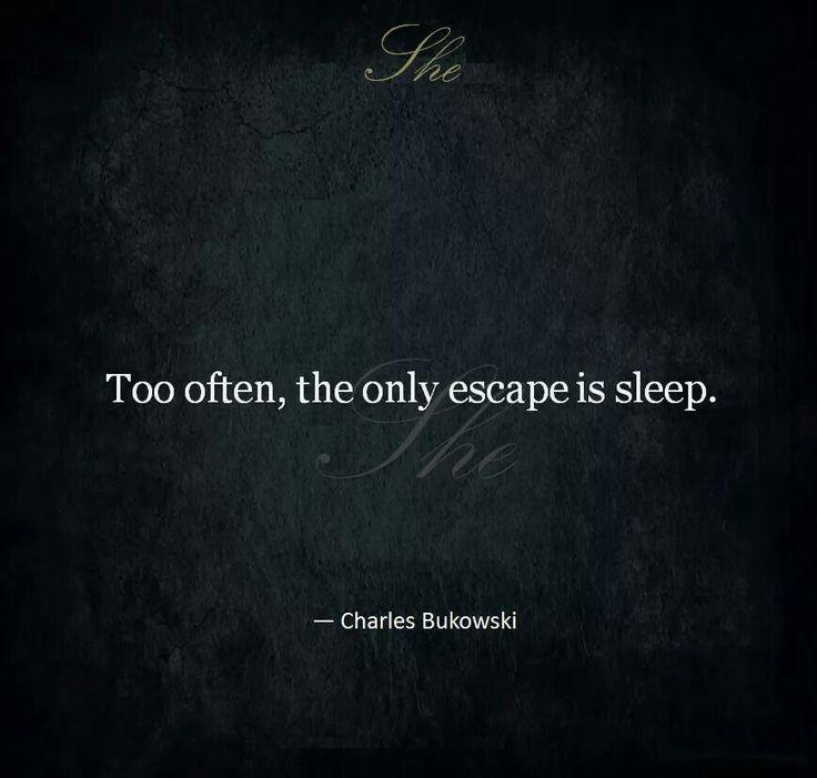 Summary and Analysis of Sleep by Charles Bukowski