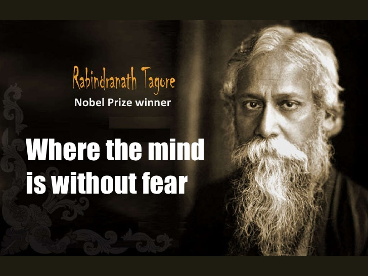Analysis, Central Idea and Theme of Where the Mind is Without Fear