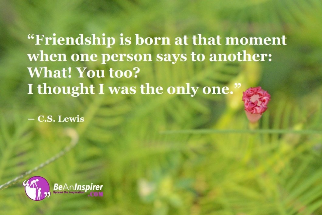 Friendship-is-born-at-that-moment-when-one-person-says-to-another-What-You-too-I-thought-I-was-the-only-one-C-S-Lewis-Top-100-Friendship-Quotes-Be-An-Inspirer