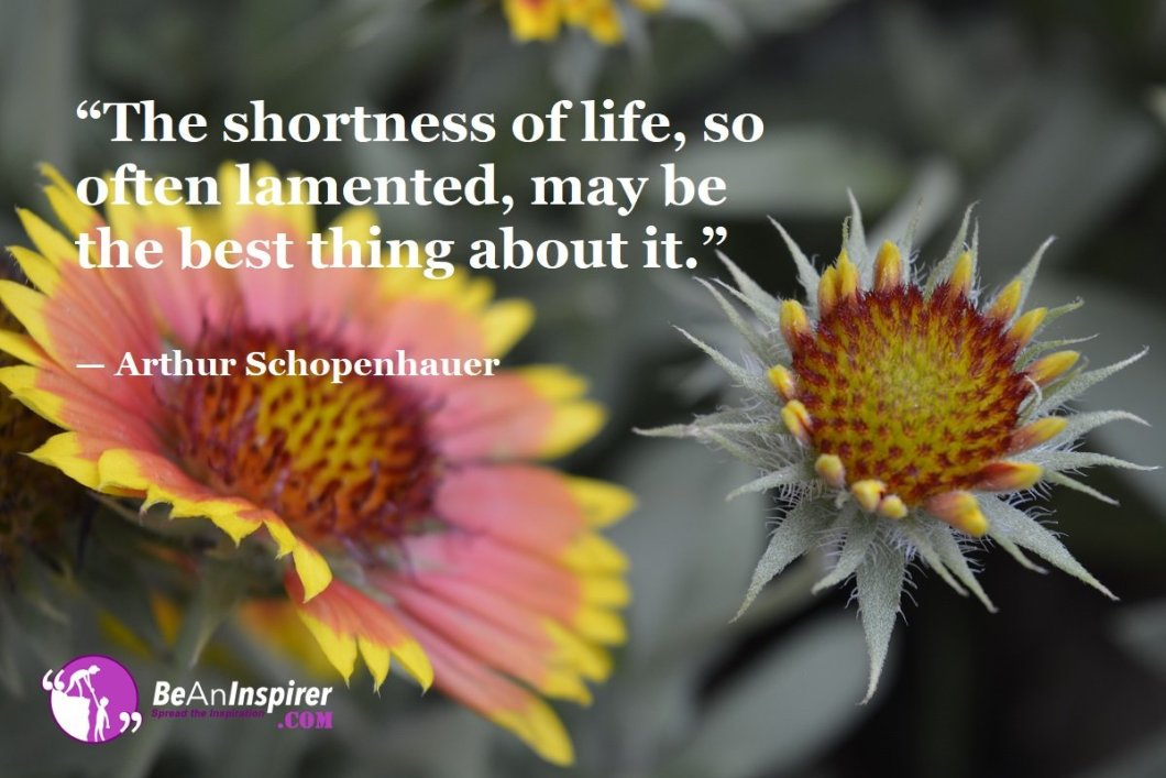 The-shortness-of-life-so-often-lamented-may-be-the-best-thing-about-it-Arthur-Schopenhauer-Top-100-Life-Quotes-Be-An-Inspirer
