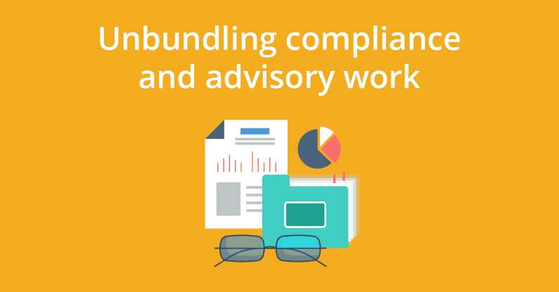 Unbundling Compliance and Advisory Work