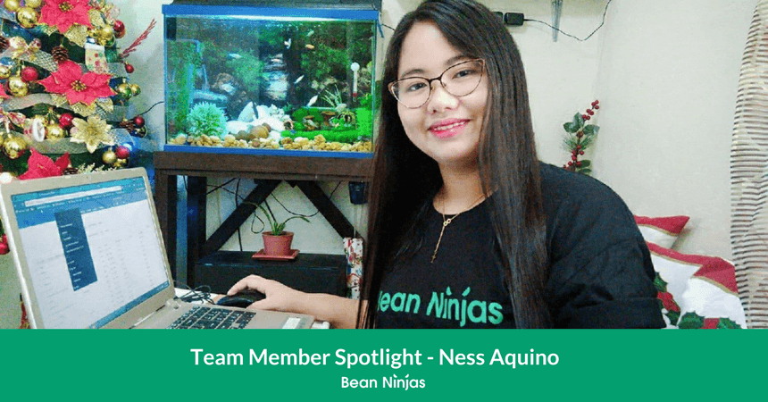Bean Ninjas Team Member Spotlight: Ness Aquino