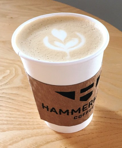 Hammerhand Coffee Kansas City Liberty latte art