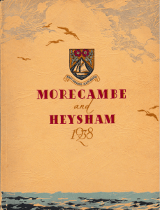 Morecambe & Heysham Brochure, 1938 cover