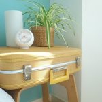 Clarence street guest room - bedside table