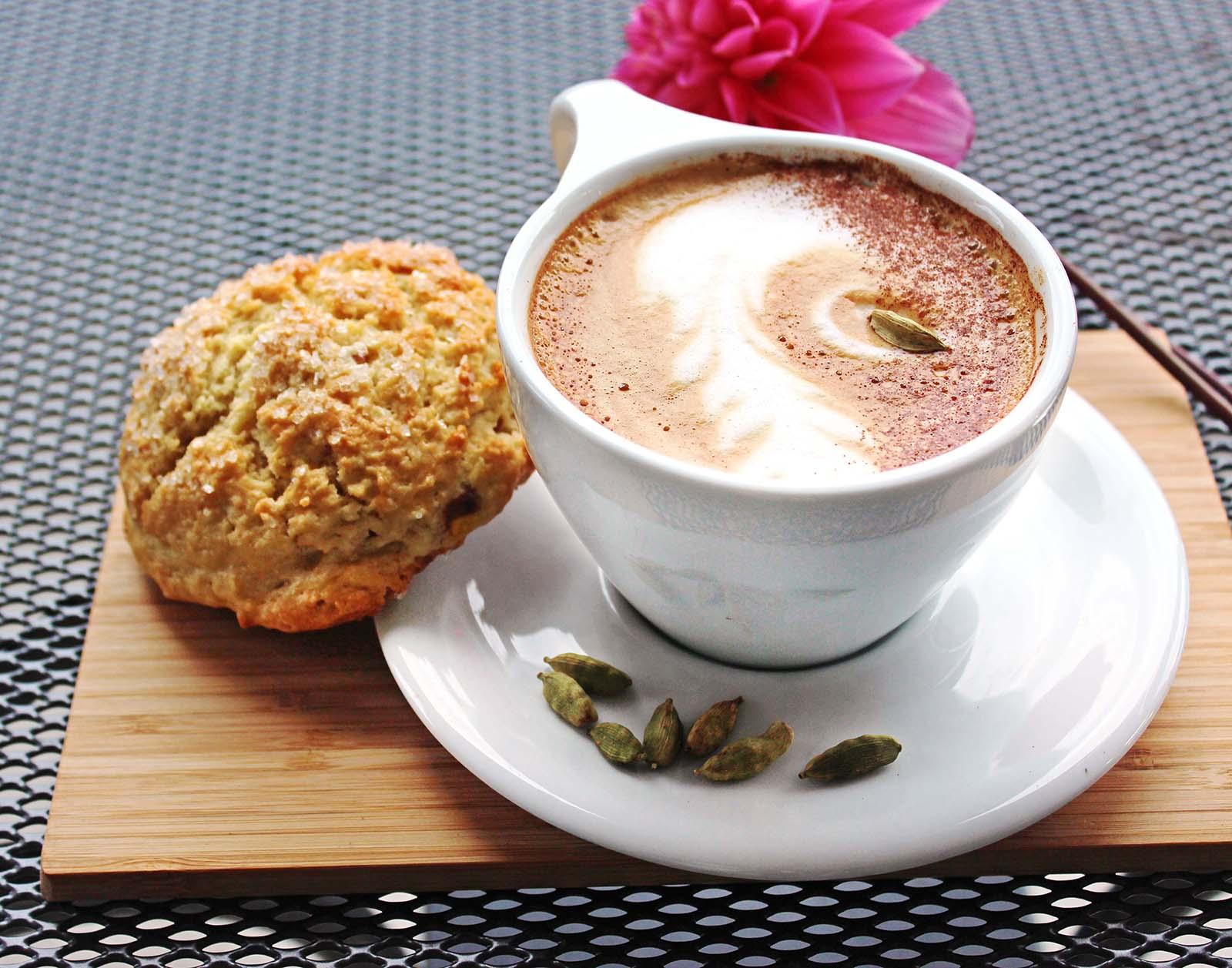 Cardamom Latte