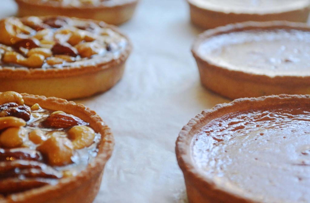 Tarts for Beans & Butter Coffeehouse Menu