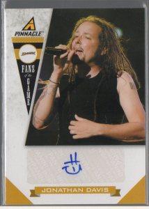 2011-12 Pinnacle Fans of the Game Autographs #6 Jonathan Davis