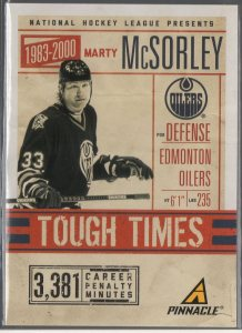 2011-12 Pinnacle Tough Times #5 Marty McSorley