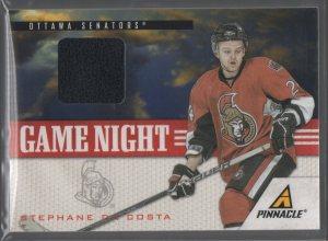 2011-12 Pinnacle Game Night Materials #21 Stephane Da Costa