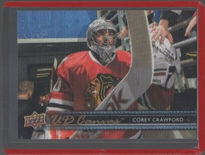 2014-15 Upper Deck Canvas #C138 Corey Crawford