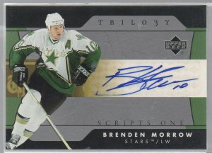 2005-06 Upper Deck Trilogy Scripts #SFSBM Brenden Morrow